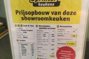 Shadow Hoogglans greeploze keuken € 4899,- 3